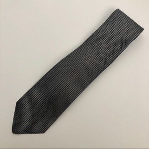 Robert Talbot Best of Class Silk Black White Tie